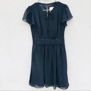 ModCloth Black Sheer Dress